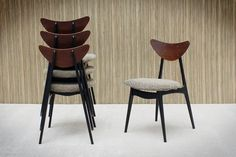 Home Decor Norway: Kay Dining Chairs - Designed by Fredrik Kayser. Produced by Steen & Strøm