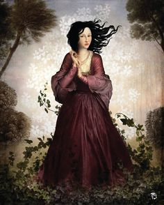 Lady in the Forest - Christian Schloe