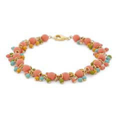 Let #CadmiumOrange give your wardrobe a fun pop of color with our DIY Carnival Sun Bracelet.