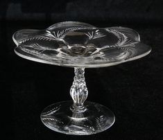 Beautiful Little Cut Glass Serving Dish by CarolsThreads on Etsy