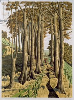 The Pilgrim's Way, 1997, Simon Palmer