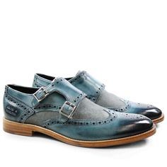 The Best Men's Shoes And Footwear : Eddy 2 Classic Turquoise Canvas Sky / Melvin & Hamilton -Read More – Hot Shoes, Shoe Boots, Shoes Sandals, Mens Casual Dress Shoes, Wingtip Shoes, Brogues, Gents Fashion, Best Shoes For Men, Only Shoes