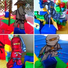 Now you can make your own Ninjago Centerpieces using these FREE digital PDF files. For Ideas on how to make a base head back to my original ...