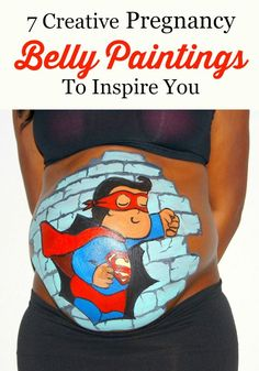 You are going to have the best photos with our creative pregnancy belly paintings! Check out our inspiration, you won't forget these memories!