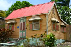 #caribbeanhouses #caribbean #colours #barbados