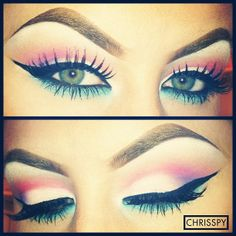 ♥♥ Make it wearable, perhaps without the dramatic eyeliner.