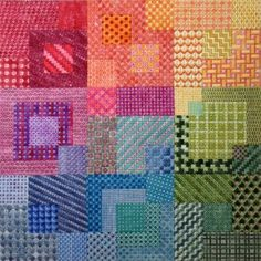 Needlepoint Stitch Sampler Omg....stitch guide avail too