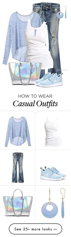 """Casual"" by rosipolooyas on Polyvore"