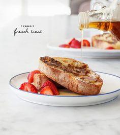 vegan french toast / loveandlemons.com