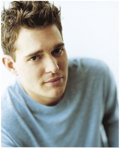"Michael Buble. I don't normally use the word ""hot"", but I'd make an exception for this guy."