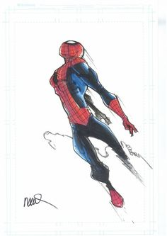 Spidey by Humberto Ramos