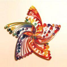 Colorful Star DIY Quilling Decoration Paper DIY Kit