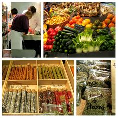 Tuula's Market of the month articles are a must read. Avignon's  indoor market is worth a visit too!