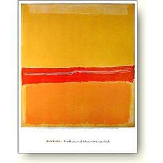 アートポスター マーク ロスコ Mark Rothko: Number 5 (Number 22)