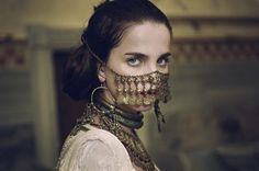 In the city of Sivár (known in Eld as Cassus), the women were silent warriors, wearing pieces over their mouths to show their devotion. They rarely used words, instead relying on their actions to show what they wanted to get across. They were dangerous warriors, silent assassins.