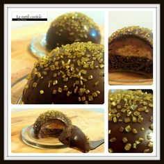 Bombas alemanas de chocolate, deliciosas! Cupcakes, Cookies Et Biscuits, Chocolate, Baked Goods, Baking, Desserts, Food, Biscuits, German Cuisine