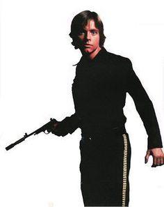 Mark Hamill (omg why is he wearing Han's pants???)