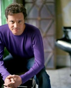 Colin Firth...as much as I love Jim, I would give my big toe to meet this man.