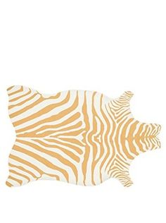 $110    Loloi Rugs Indoor/Outdoor Zadie Rug (Gold/White)