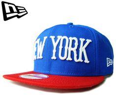"""【ニューエラ】【NEW ERA】9FIFTY CITY LOGO SERIES """"NEW YORK"""" ブルーxレッドxホワイト スナップバック【CAP】【newera】【snap back】【帽子】【ニューヨーク】【ブルックリン】【NY】【BLACK】【白】【キャップ】【青】【あす楽】【楽天市場】"""