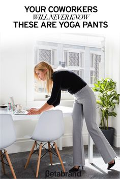 <<SPECIAL OFFER: 20% Off Dress Pant Yoga Pants! Click the Pin Above>> Find workwear that doubles as workout wear with Betabrand's unique dress pant yoga pants. Perfect for performing the Lunchtime Lotus and the Power Pointer, these pants come in a variety of colors that combine a soft, stretchy performance knit with dress-pant stylings. Look professional and feel comfortable with 20% off your first pair at Betabrand today.