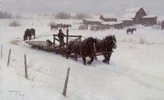 robert duncan snowy day