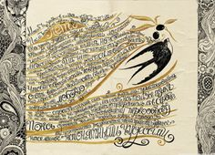 Sveta Dorosheva; Narrative Illustration; diaries and workbooks 2011-2014 | http://lattona.prosite.com/135099/3356695/gallery/diaries-and-workbooks-2011-2014 | via Patternbank.com