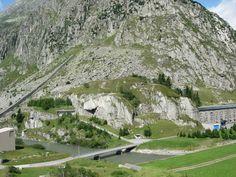 AW Bühl, Andermatt / Gotthard Blick aus Werk Altkirch