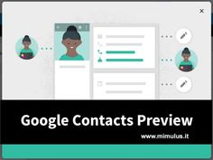 Google Contacts e l'integrazione Gmail con Google+