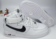 Nikelab Air Force 1 Mid White Black - Air Force 1
