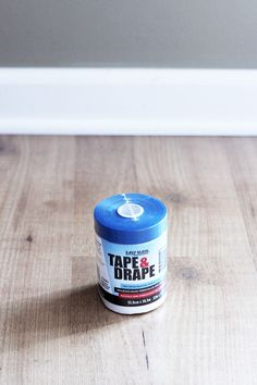 Definitely read this post before you start patching and painting baseboards! This is the easiest method that I have seen! Click through to the post to see how! Painting Baseboards, Painting Trim, Home Improvement Show, Home Improvement Projects, Tapas, Stone Walkway, Roof Covering, Think Small, Paint Cans