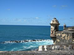 El Morro, San Juan: my first trip off the main land..cant wait to take DH!