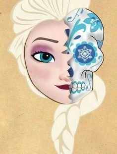 Elsa Sugar Skull