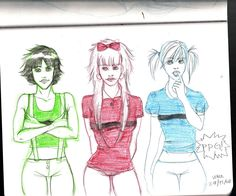 Sugar, spice, everything nice by vika8D on deviantART