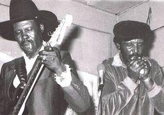 Smokey Wilson and Johnny Dyer