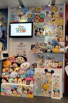 Disney Tsum Tsum merchandise at Disney Expo Japan 2015.