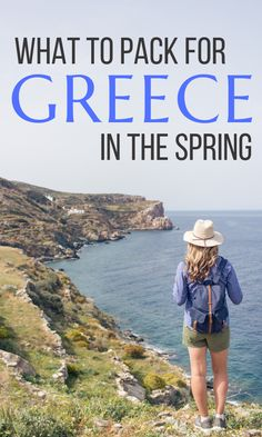 travel destinations Greece trips - What to Pack for Greece in the Spring - Maple & Maps Packing List For Travel, Europe Travel Tips, European Travel, Travel Guides, Packing Lists, Budget Travel, Travel Hacks, Greece Vacation, Greece Travel
