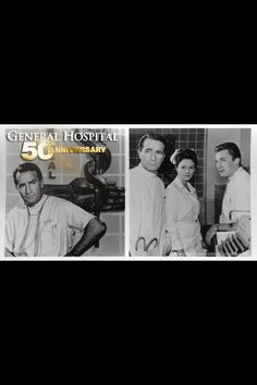 General Hospital first episode ( Dr. Hardy& Nurse Jessie & ?) 50 years #GH50