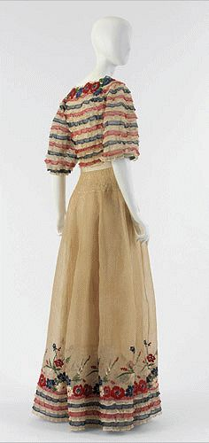 1939 Chanel - Dress designed by Gabrielle Coco Chanel - Museum of the City of New York
