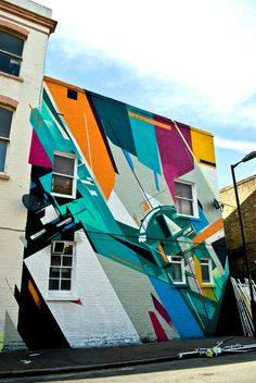 Remi Rough Augustine Kofie New Wall South London. #augustine_kofie http://www.widewalls.ch/artist/augustine-kofie/