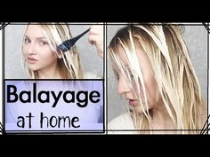 What i use to balayage my own hair pinterest balayage technique balayage at home how to youtube solutioingenieria Images