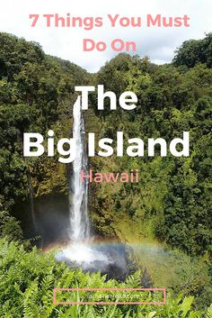 7 Things You Must Do On The Big Island, Hawaii The Big Island is incredible - so much beauty and culture and so much to do. Read about these 7 Things You Must Do On The Big Island, Hawaii. Lanai Island, Big Island Hawaii, Sanibel Island, Hawaii Honeymoon, Hawaii Vacation, Beach Vacations, Vacation Rentals, Hawaii Trips, Hawaii Life