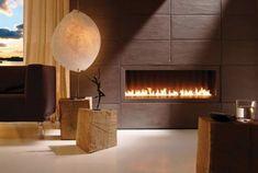modern fireplace design ideas built in gas fireplace brown accent wall living room decor ideas