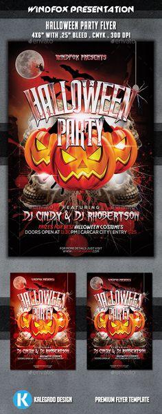 Halloween Party Flyer Tempalte #design Download: http://graphicriver.net/item/halloween-party-flyer/9319708?ref=ksioks