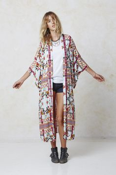 #AugusteFrank Bohemia Kimono
