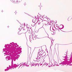 Lovely Wandtattoo Einhorn Einh rner Sterne mit Namen