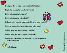 Vragen die helpen om compassievol te reageren, uiteraard niet alleen voor uitdagende situaties met kinderen :-)