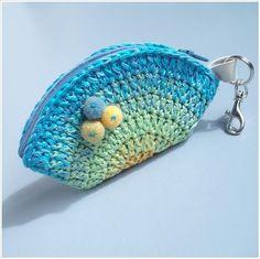 Monedero! ♥ https://www.pinterest.com/LeoncitosLocos/crochetesamor/