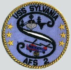 USS Sylvania (AFS-2) ships crest