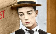 Buster Keaton Colorized by ajax1946 on DeviantArt